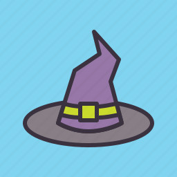 halloween, hat, hocuspocus, magic, party, witch, witchcraft icon