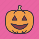 candle, evil, halloween, jack-o-lantern, pumpkin, scary, spooky icon