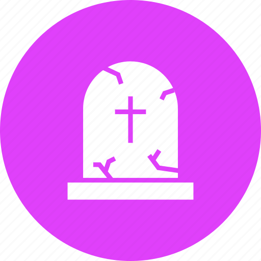 cross, death, funeral, grave, gravestone, graveyard icon