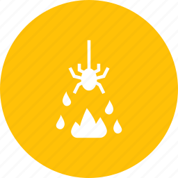 evil, fire, halloween, horror, spider icon