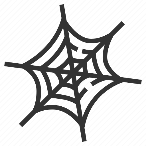 Cobweb, halloween, death, horror, scary, spider, spooky icon - Download on Iconfinder