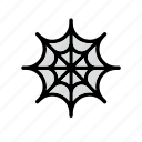 celebration, cobweb, festival, halloween, spider, spider web icon