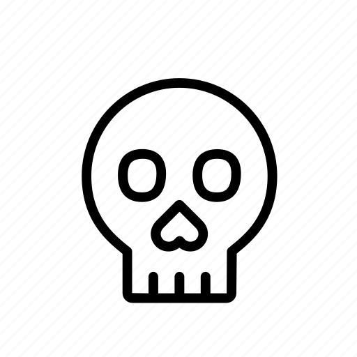 bone, celebration, cranium, festival, halloween, head, skull icon