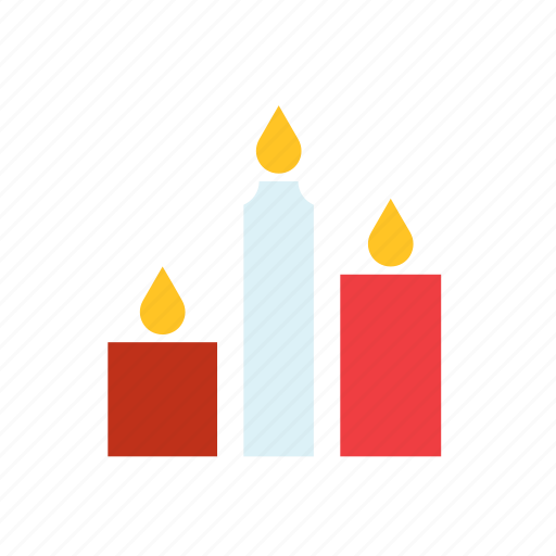 candle, candles, celebration, festival, halloween, light icon