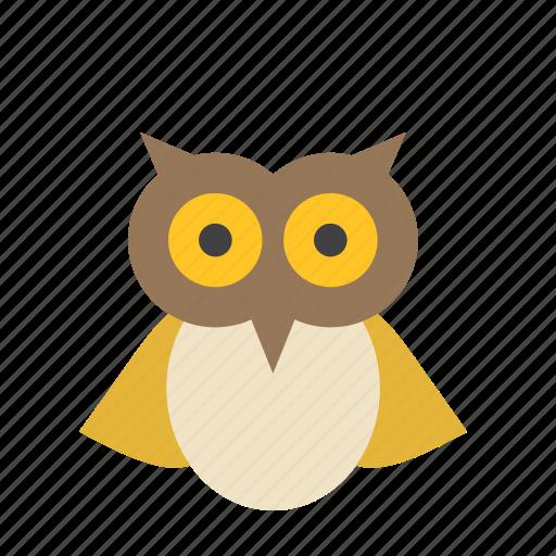 Celebration, festival, halloween, animal, bird, owl icon - Download on Iconfinder