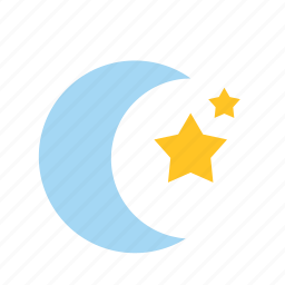 celebration, festival, halloween, moon, night, star, weather icon