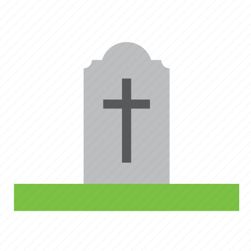 cemetery, grave, tomb icon