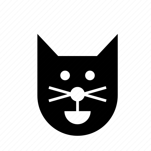 animal, cat, celebration, face, festival, halloween, pet icon