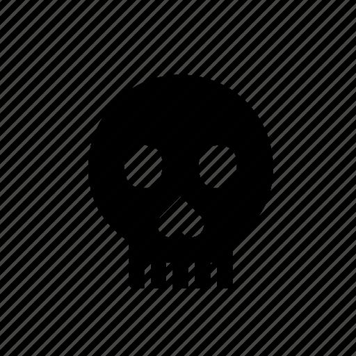 bone, celebration, cranium, festival, halloween, head, skull icon