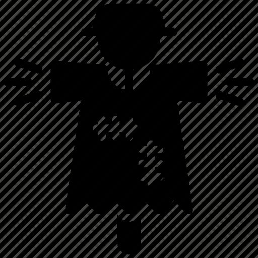 bugaboo, field scarecrow, scarecrow, scary person, strawman icon
