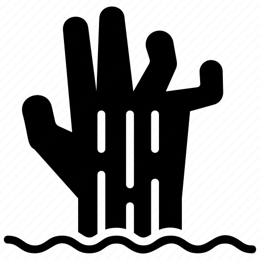 halloween, hand, horror, scary, spooky, zombie hand icon