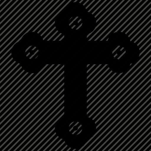 christian cross, christianity symbol, crucify, holy cross, jesus cross icon