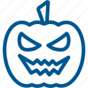 angry, emoji, evil, face, halloween, pumpkin, scary