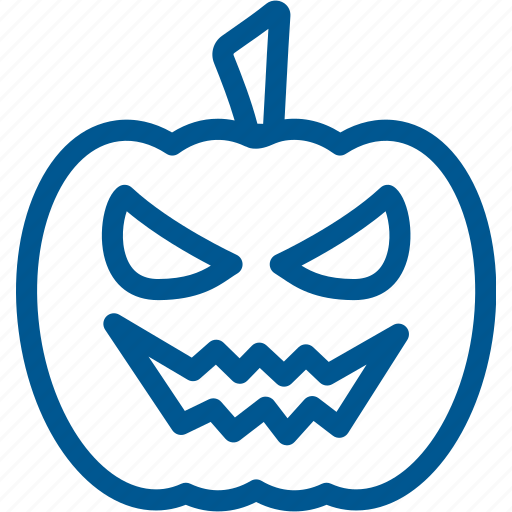 angry, emoji, evil, face, halloween, pumpkin, scary icon