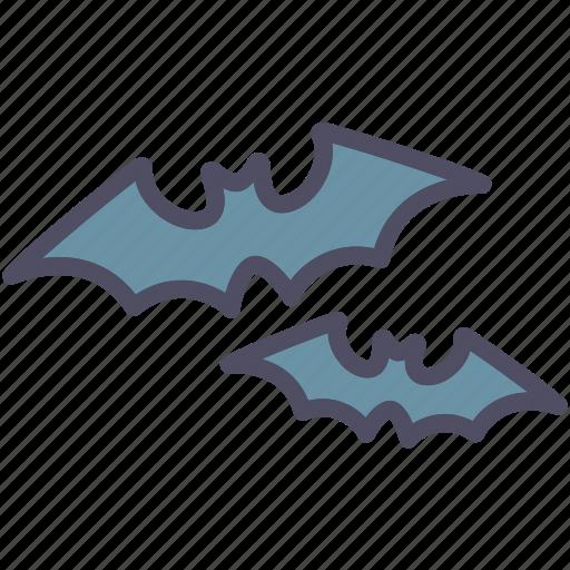 bats, creepy, halloween, horror, scary, spooky, vampire icon
