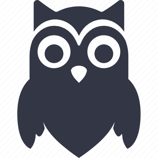 bird, halloween, owl icon