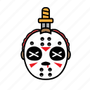 avatar, halloween, jason, killer, sword icon
