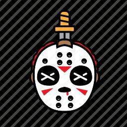 avatar, halloween, jason, killer, sword icon