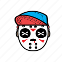 avatar, halloween, horror, jason, snapback icon