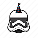 avatar, birthday, halloween, star wars, storm, trooper icon