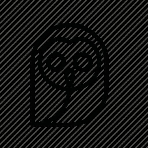 dead, death, halloween, horror, monster, owl, scary icon