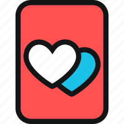 cards, heart, hearts, life, love icon