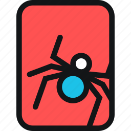 beetle, cards, insect, spider, toxic icon