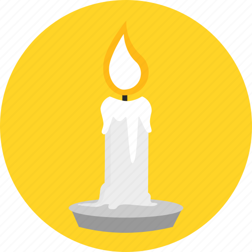burn, candle, candlepower, fire, flame, light, plug icon