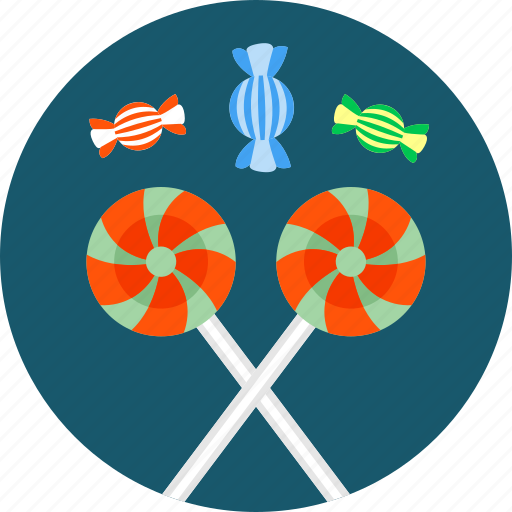 candy, caramel, lollipop, lolly, sweetmeat, sweets, toffee icon