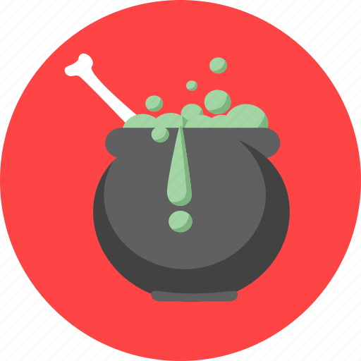 bone, celebration, halloween, magic potion, party icon
