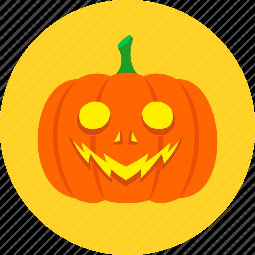 face, halloween, jack o'lantern, light, pumpkin, smile icon