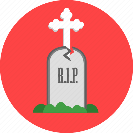 dead, death, graveyard, rip, rood, tomb, tombstone icon