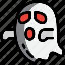 creepy, ghost, halloween, night, party