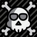 ghost, halloween, night, party, skull icon