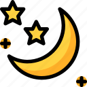 ghost, halloween, moon, night, party icon