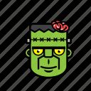 avatar, halloween, brain, frankenstein, zombie