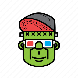 avatar, face, halloween, man, movie, snapback icon