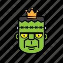avatar, halloween, face, frankenstein, king