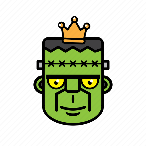 avatar, face, frankenstein, halloween, king icon