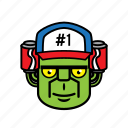 avatar, face, frankenstein, halloween, man icon