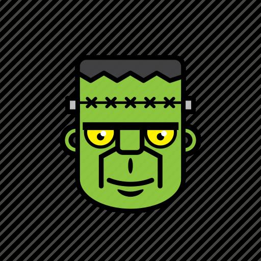avatar, face, frankenstein, halloween, man icon
