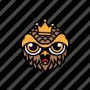 avatar, halloween, bird, king, owl