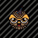 avatar, halloween, bird, birthday, owl
