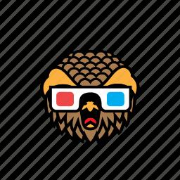 avatar, bird, halloween, movie, owl icon