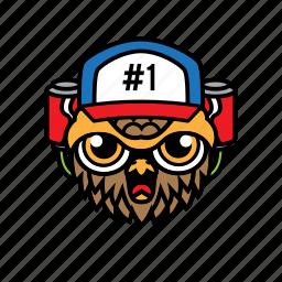 avatar, bird, coke, halloween, owl icon