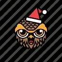 avatar, halloween, bird, owl, xmas