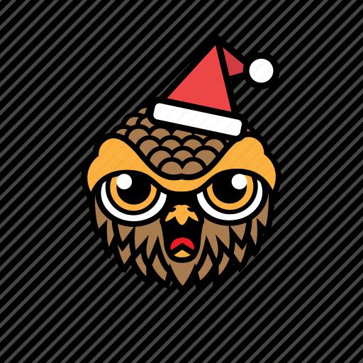 avatar, bird, halloween, owl, xmas icon