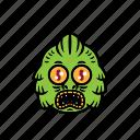 avatar, halloween, face, greenlake, monster