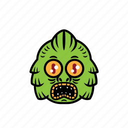 avatar, face, greenlake, halloween, monster icon
