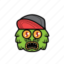 avatar, greenlake, halloween, monster, snapback icon